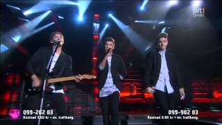 JTR - Building It Up (Live at Melodifestivalen 2015 - Semi Final 4)