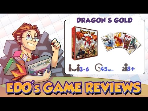 Edo's Dragon's Gold Card Game Review