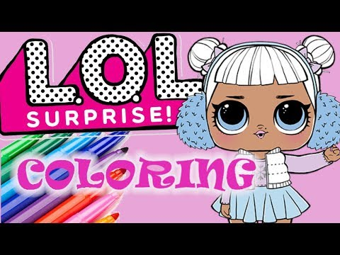 How To Draw Snow Angel Lol Surprise Doll смотреть онлайн на Hahlife