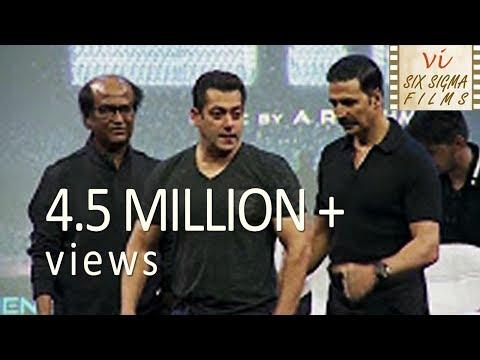 Salman Khan Gate Crashed A Party To Meet Rajinikanth | 4.5 Million+ Views | Six Sigma Films