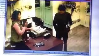 Нападение на цветочный магазин
