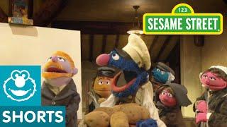 Sesame Street: Grover Inspires Vincent Van Dough