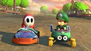 Mario Kart 8 - 1v1 Race w/ The Diamond Minecart