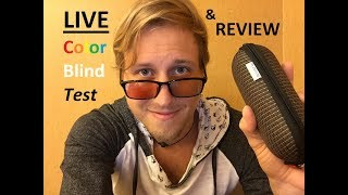 Pilestone Color Blind Glasses Review with Color Blind Test!