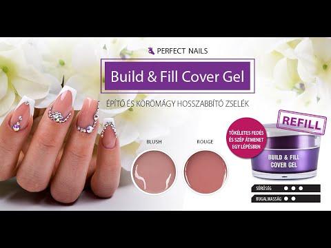 Build&Fill Cover Gel műkörömépítő zselék bemutatkoznak| Perfect Nails