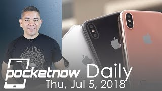 iPhone X rainbow colors, Galaxy Note 9 leaked by Samsung & more - Pocketnow Daily