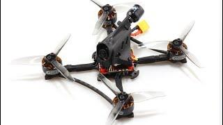 HGLRC Petrel 120X Pro FPV: Madien Flight and Crash Test [FPV Cam View]