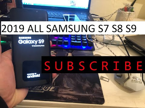 Bypass Google Account FRP SAMSUNG GALAXY S8 & S8 Android 9 0 without
