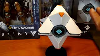 DESTINY EXCLUSIVE TOY FIGURES AND GHOST UNBOXING!
