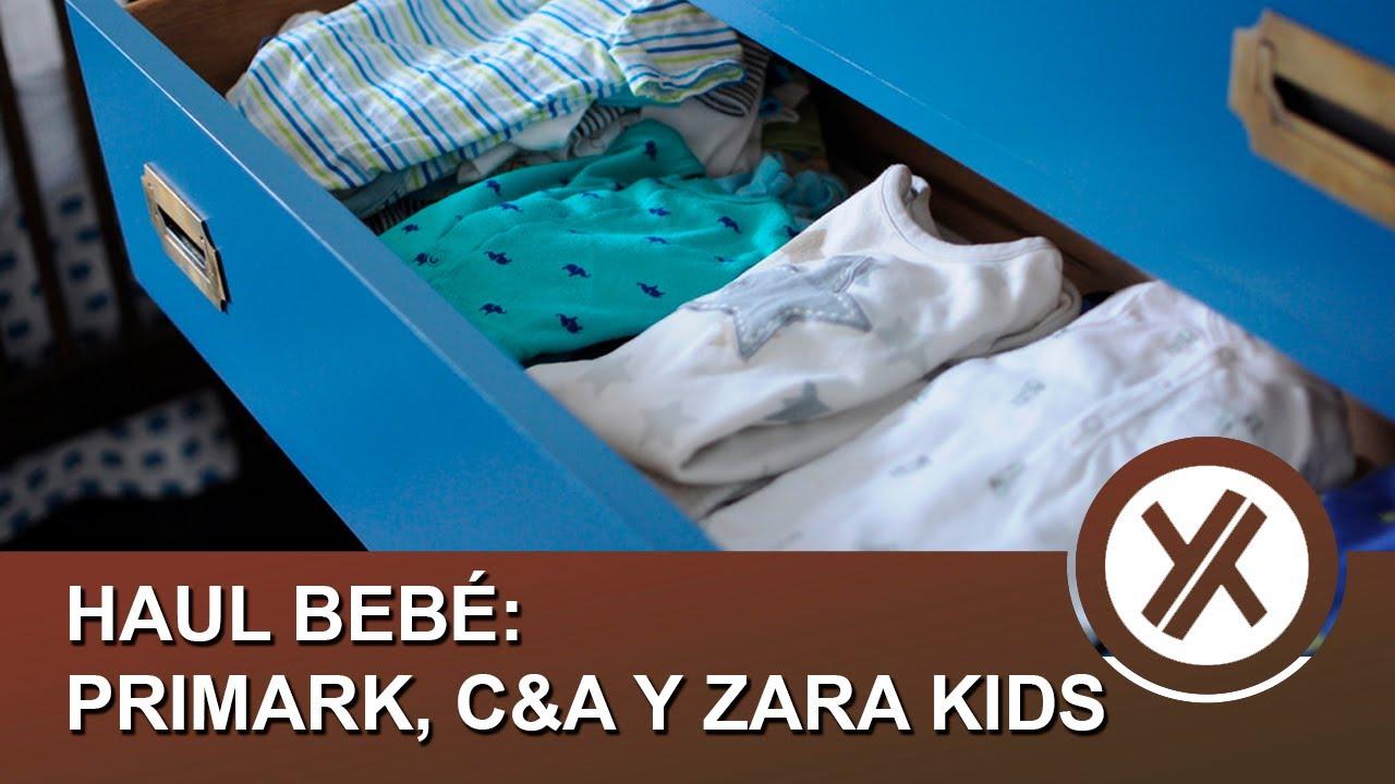 Haul ropa de bebé - Primark, C&A y Zara Primavera-Verano