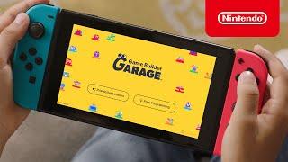 Nintendo Game Builder Garage - Available Now - Nintendo Switch anuncio