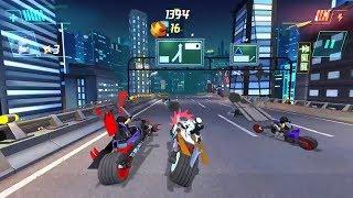 ЛЕГОПЛЕЙ #1 Обзор Лего Игры Lego NinjaGo : Ride Ninja / Лего Need For Speed на минималках