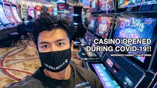 I Went To A CASINO During COVID-19… (Morongo Casino)