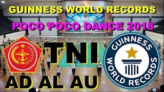 Tiga Matra TNI AD AL AU GWR Poco Poco Dance 2018 Tutorial