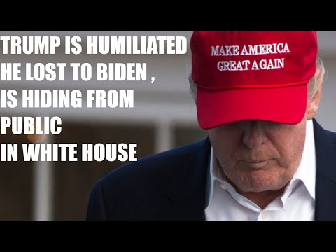 Trump Is Reportedly HUMILIATED He Lost To Joe Biden & Is HIDING In The White House Away From Public!
