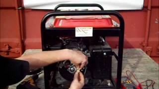 How to test your Electricity Generator