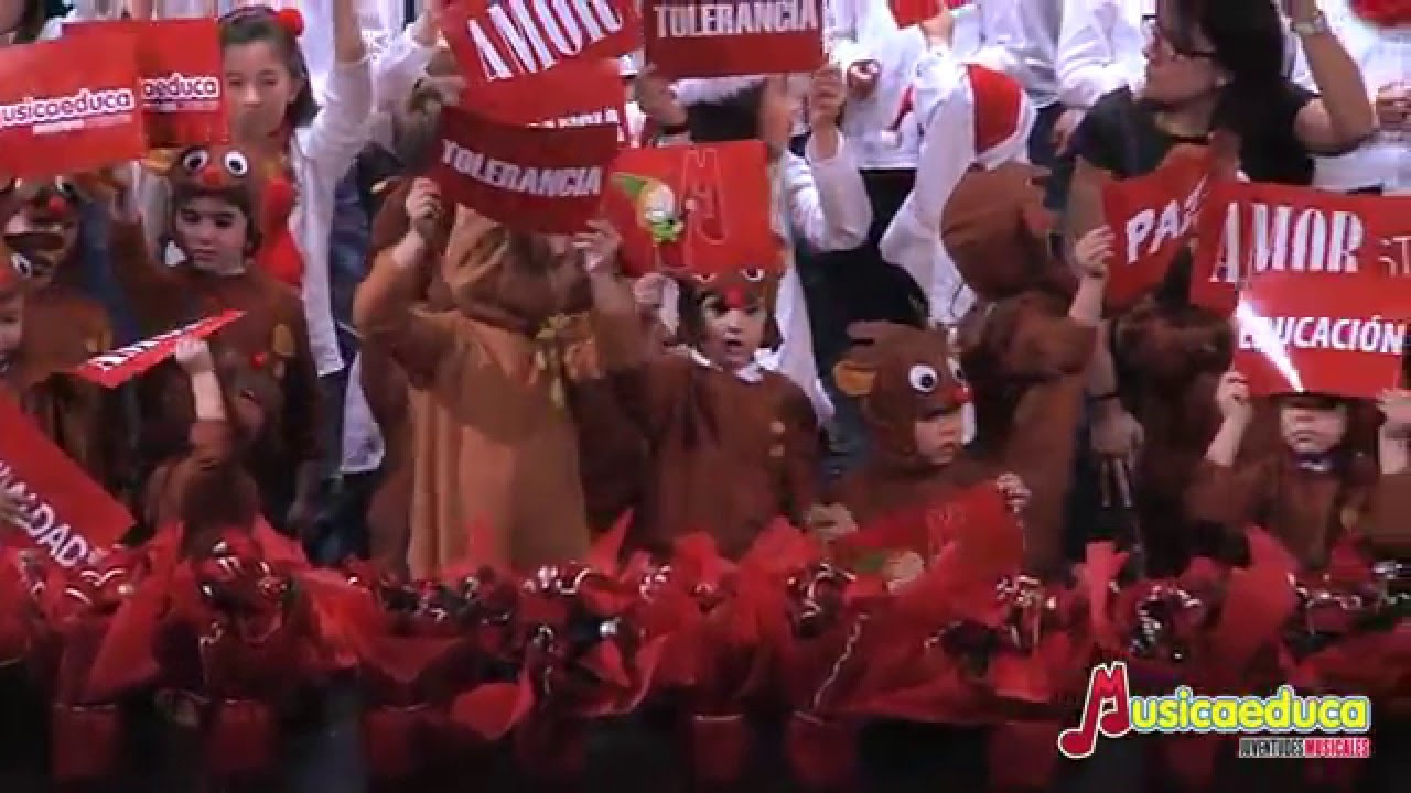 Alleluia de Josu Elberdin - Concierto de Navidad Musicaeduca Juventudes Musicales