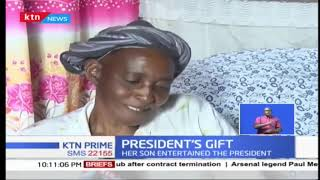 Damaris Wambui rejects the house President Uhuru Kenyatta built her