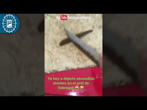 La Policía Local de Málaga informa a los Mossos que un joven escondía droga en parques