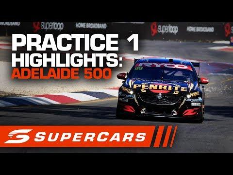 2020年SUPERCARS 第1戦 スーパーループアデレード500 プラクティス1 ハイライト動画
