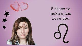 5 steps to make a Leo love you