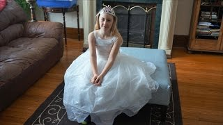 The Communion Dress Reveal And The Problems With The Design!!!  Day 110 (03/08/15)