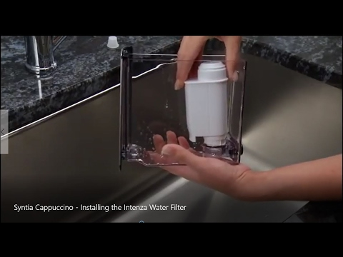 How to - Philips Saeco Installing the Intenza Water Filter | Descaler UK