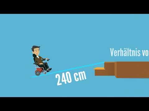 Die richtige Rollstuhlrampe I Der Rampen Shop