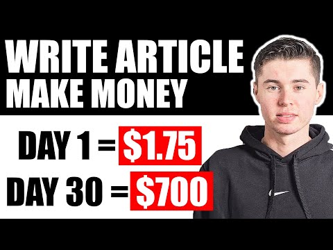 How To Make Money by Writing Articles Online (3 Ways)