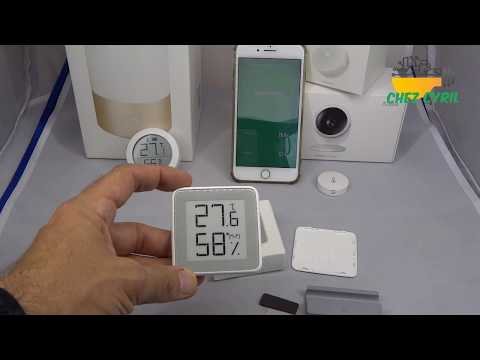 Thermomètre et Hygromètre numérique à grand écran E Ink MMC