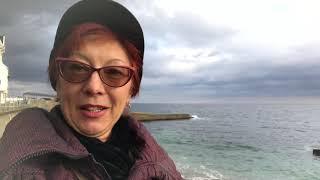 101.  Осеннее Море, Осенний Пляж...Алупка,Крым...