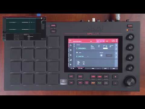 MPC Software 2.0 Overview: Audio Tracks