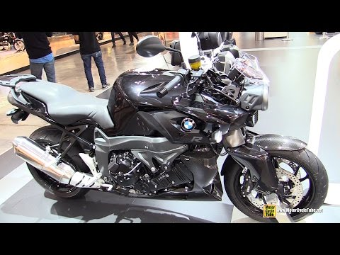 2015 BMW K1300R - Walkaround - 2014 EICMA Milan Motorcycle Exhibition