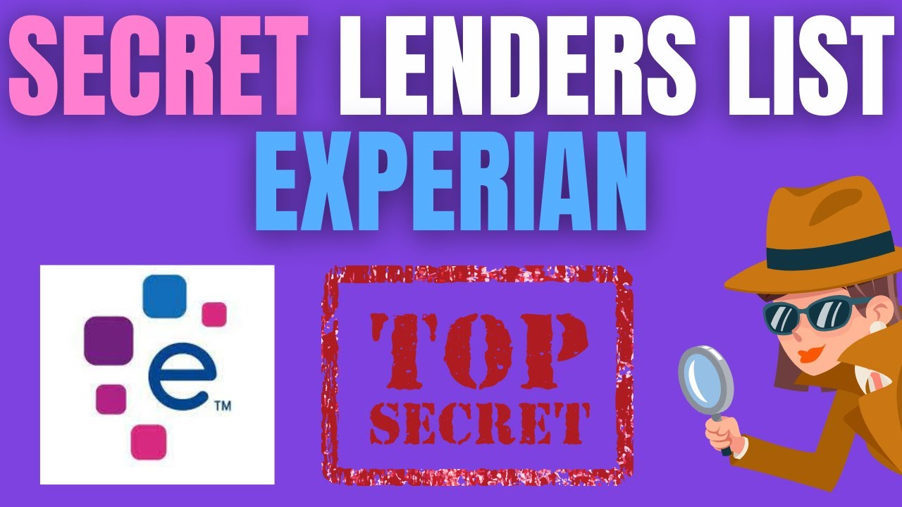 EXPERIAN TRICK LOAN PROVIDER LIST BANKS and CREDIT Cards That PULL From Experian (MUST SEE) thumbnail