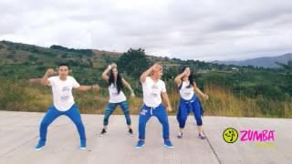 "ZUMBA ""MUEVE LA CINTURA"" El Chevo ft Papayo by Honduras Dance Crew ""PUNTA """