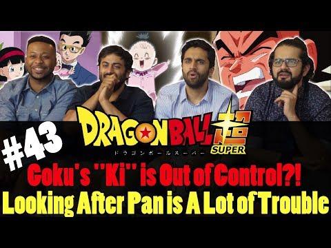 Dragon Ball Super ENGLISH DUB - Episode 43 - Group Reaction
