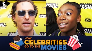 How Celebrities Go to the Movies - SXSW Edition | Fandango All Access