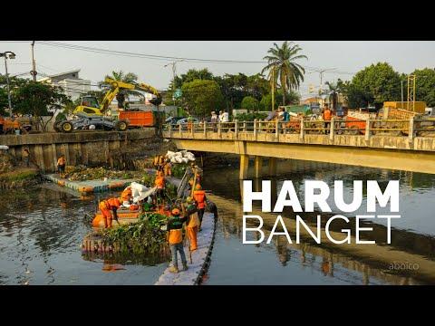 Ngobrol Bareng Petugas Sampah Sungai Jakarta