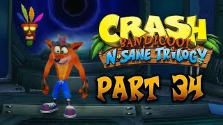 Crash Bandicoot N. Sane Trilogy - Part 34 (100% Crash 2 Cortex Strikes Back Platinum Trophy)