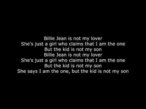 Weezer - Billy Jean Lyrics