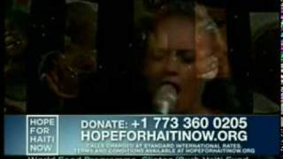 Send me an angel -  Alicia Keys - Hope for Haiti now