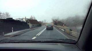 preview picture of video 'Szczytno - Olsztyn - Droga krajowa nr 53 (DK53)'