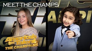 JJ Pantano and Connie Talbot Prove That They Are CHAMPIONS! - America's Got Talent: The Champions