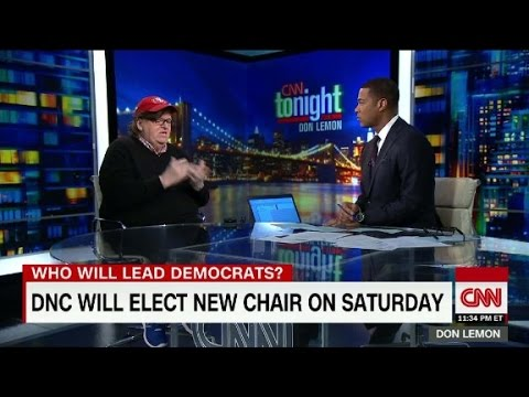 Michael Moore endorses Keith Ellison for DNC Chair