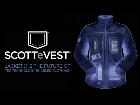 SCOTTeVEST Jacket X: The Future of Wearable Tech!