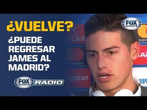 ¿Regresa James Rodríguez al Real Madrid? Mira la EXCLUSIVA
