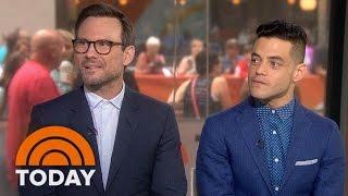 Christian Slater, Rami Malek Preview 'Mr. Robot' Season 2 | TODAY