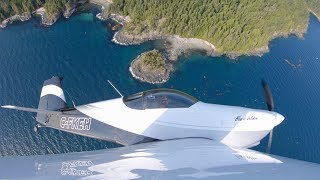 RV Aircraft Video - Flying BC's West Coast in a Vans RV-6 | 4K