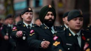 O Canada - Canadian National Anthem - Performed by the Royal Hamilton Light Infantry Band.