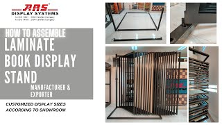 How To Assemble Laminate Book Display Stand 0091 9415202280